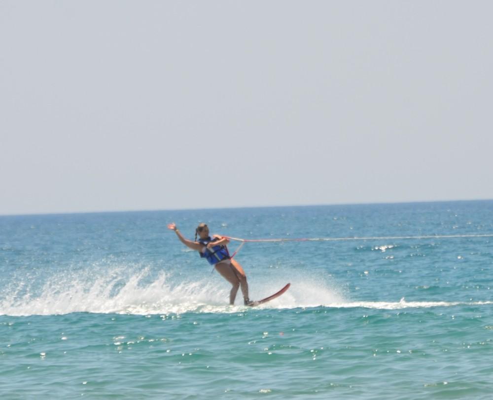 Monika na vodních lyžích(30)