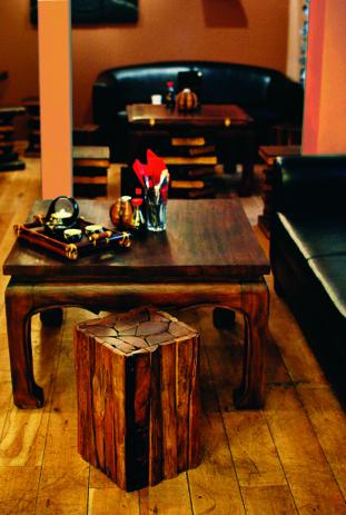 Interier Café Buddha Balbínova I.