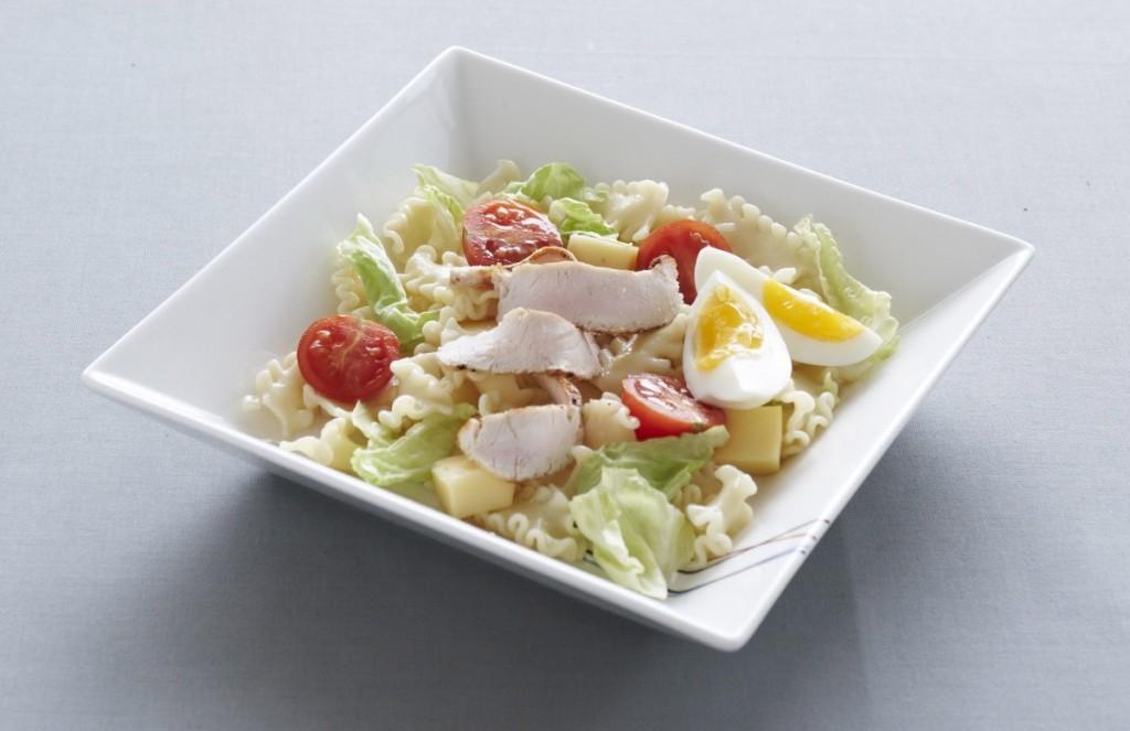 Zeleninovy salat skrutim masem