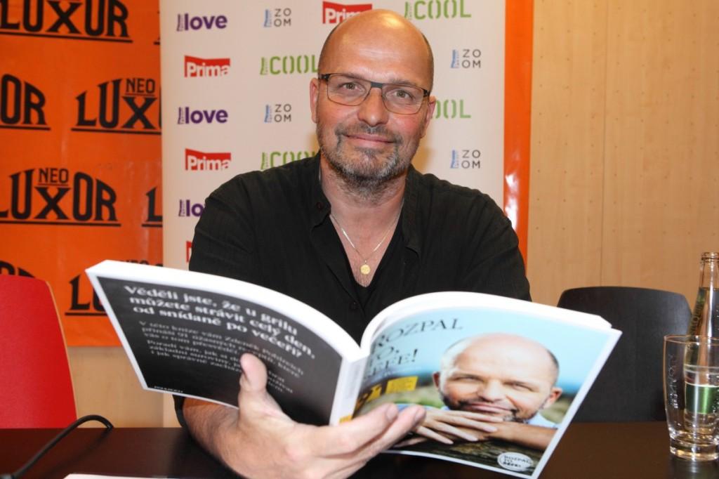 Zdeněk Pohlreich coby hrdý autor