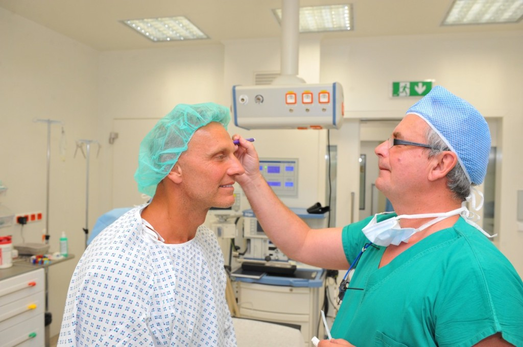 Martin Maxa na operačním sále
