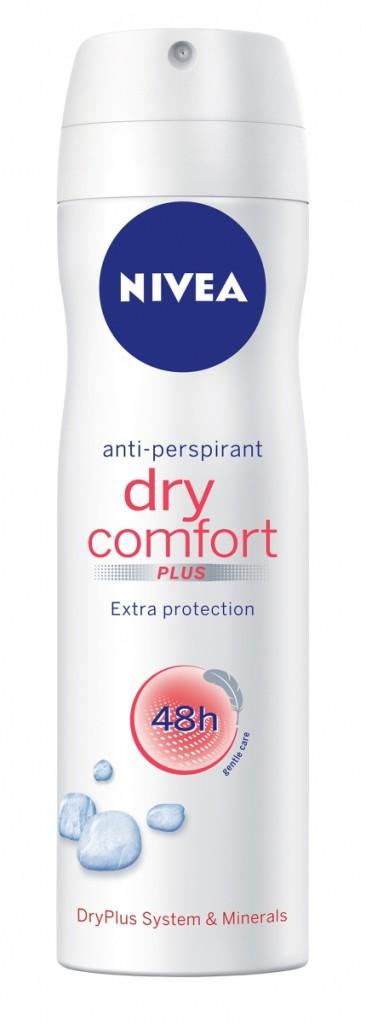 Sprej antiperspirant Dry Comfort, NIVEA, 150ml, 83Kc_848x2362