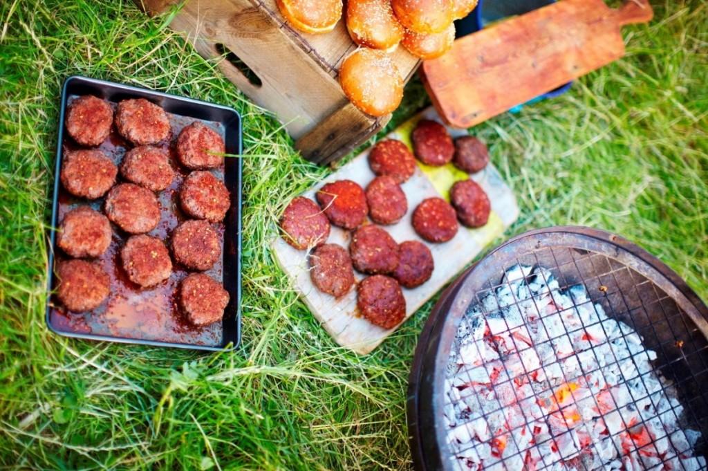 Moroccan-style Lamb Burgers – Jamie Cooks Summer