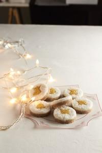 Luxus - Nepecene zalte medailonky scitronovo-kokosovou prichuti